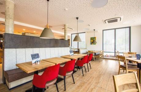 Stiftung Ecksberg Cafe und Backstube - Sitzbereich